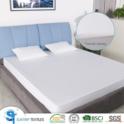 Luxury Tencel Jersey Waterproof Mattress Cover