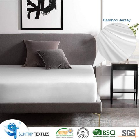 Bamboo Jersey Waterproof Mattress Cover