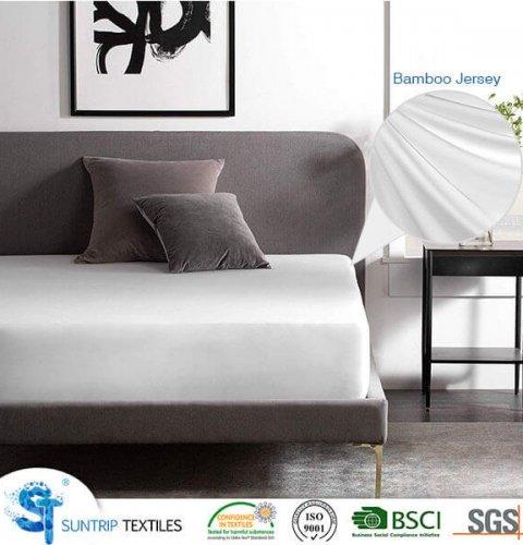 Bamboo Jersey Waterproof Mattress Cover