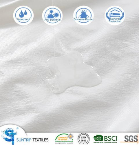 Cotton Long Loop Terry Waterproof Mattress Protector