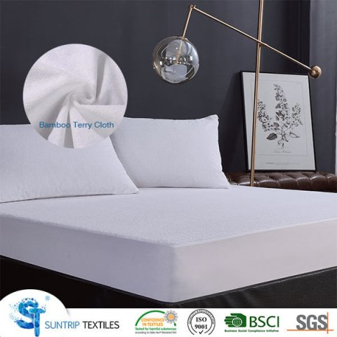 Bamboo Terry Cloth Mattress Protector