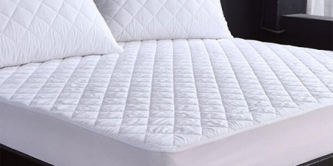 Polyester Pongee Quilting Waterproof Mattress Protector