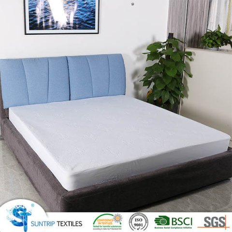 Bamboo Jacquard Waterproof Mattress Protector