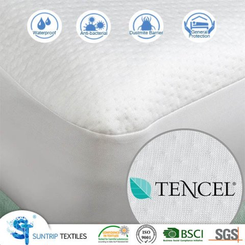 Cooling Tencel Jacquard Mattress Cover