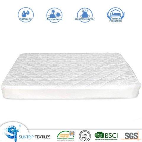 Cotton Quilting Crib Mattress Protector
