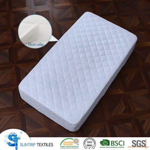 Bamboo Terry Qulited Baby Mattress Protector