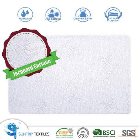 Cooling Soft Tencel Jacquard Crib Waterproof Mattress Cover