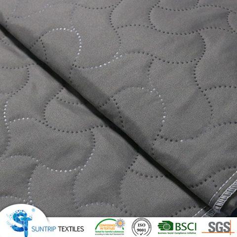 170gsm Grey Ultrasonic Quilting Fabric Manufacturer | SUNTRIP