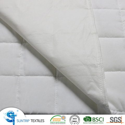 70gsm micro peach with 100gsm poly filling and 25gsm PP nonwoven with TPU