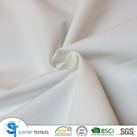 210T Nylon-poly micro peach(12Nylon/88poly)laminated with TPU