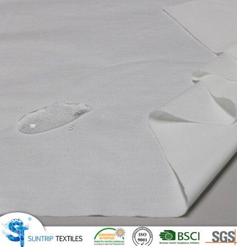 Tencel jersey fabric laminated with TPU