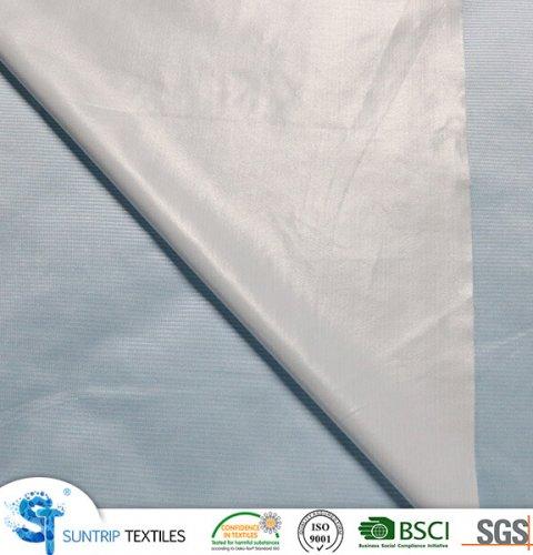110gsm grey tencel jersey fabric laminated with TPU