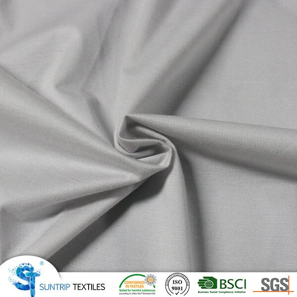 110gsm grey tencel jersey fabric laminated with TPU