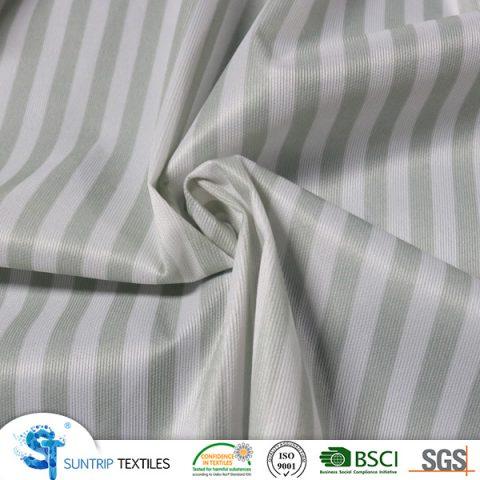 70gsm printed horizontal stripe laminated withTPU