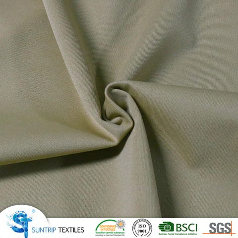 180gsm drak yellow poly knitted fabric laminated with TPU