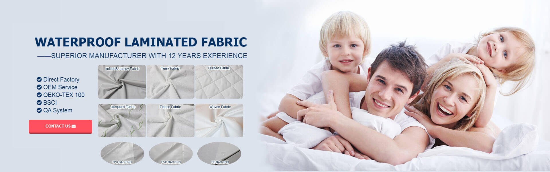 waterproof fabric manufacturer