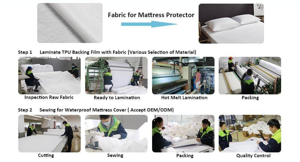 Mattress cover Fabric